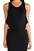 Image 5 of Boulee Cruz Open Back Maxi Dress in Black