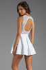 Image 1 of Boulee Avery Tank Dress in White Lace