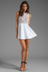 Image 2 of Boulee Avery Tank Dress in White Lace