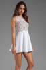 Image 3 of Boulee Avery Tank Dress in White Lace