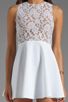 Image 5 of Boulee Avery Tank Dress in White Lace
