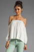 Image 1 of Boulee Audrey Top in Off White