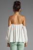 Image 2 of Boulee Audrey Top in Off White