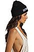 Image 2 of Brian Lichtenberg Homies Unisex Beanie in Black/White
