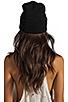Image 3 of Brian Lichtenberg Homies Unisex Beanie in Black/White