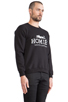 Image 2 of Brian Lichtenberg Homies Sweatshirt in Black/White