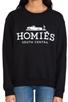 Image 4 of Brian Lichtenberg Homies Sweatshirt in Black/White