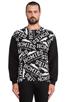 Image 1 of Brian Lichtenberg Homies Graffiti Sweatshirt in Black/White