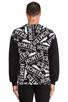 Image 3 of Brian Lichtenberg Homies Graffiti Sweatshirt in Black/White