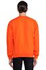 Image 3 of Brian Lichtenberg Homies Sweatshirt in Orange/Gold-Foil