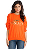 Image 1 of Brian Lichtenberg Homies Sweatshirt in Orange/Gold-Foil