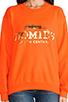 Image 4 of Brian Lichtenberg Homies Sweatshirt in Orange/Gold-Foil