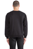 Image 3 of Brian Lichtenberg Ballin Sweatshirt in Black/Gold Foil