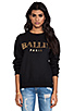Image 1 of Brian Lichtenberg Ballin Sweatshirt in Black/Gold Foil