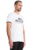 Image 2 of Brian Lichtenberg Homies Tee in White/Black