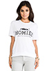 Image 1 of Brian Lichtenberg Homies Tee in White/Black