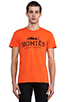 Image 1 of Brian Lichtenberg Homies Tee in Orange