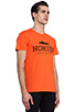 Image 2 of Brian Lichtenberg Homies Tee in Orange