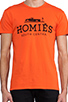 Image 4 of Brian Lichtenberg Homies Tee in Orange
