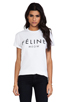 Image 1 of Brian Lichtenberg Feline Tee in White/Black