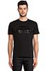 Image 1 of Brian Lichtenberg Homies Unisex Short Sleeve Tee in Black/ Black Foil