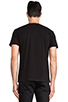 Image 3 of Brian Lichtenberg Homies Unisex Short Sleeve Tee in Black/ Black Foil
