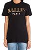 Image 4 of Brian Lichtenberg Ballin Tee in Black & Gold Foil