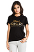 Image 1 of Brian Lichtenberg Homies Tee in Black/Gold