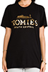 Image 4 of Brian Lichtenberg Homies Tee in Black/Gold