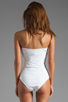 Image 3 of BEACH RIOT // STONE_COLD_FOX Gally Cook One Piece in White