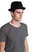 Image 3 of Brixton Gain Black Felt Hat