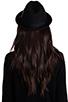 Image 3 of Brixton Gain Black Felt Hat