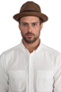 Image 2 of Brixton Castor Brown Straw Hat