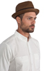 Image 3 of Brixton Castor Brown Straw Hat