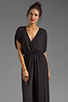 Image 1 of By Malene Birger Viscose Jersey Tytan Jumpsuit in Black