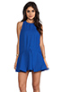 Image 1 of Cameo Bless This Mess Dress in Pacific Blue