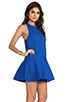 Image 3 of Cameo Bless This Mess Dress in Pacific Blue