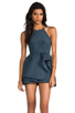 Image 1 of C/MEO Winter Wind Dress in Graphite Blue