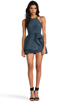 Image 2 of C/MEO Winter Wind Dress in Graphite Blue