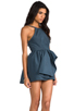 Image 3 of Cameo Winter Wind Dress in Graphite Blue