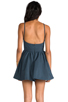 Image 4 of Cameo Winter Wind Dress in Graphite Blue