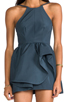 Image 5 of C/MEO Winter Wind Dress in Graphite Blue