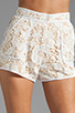 Image 4 of Cameo Brakelight Short in Ivory