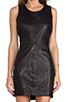 Image 5 of Capulet Leather Tank Dress in Black