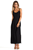 Image 2 of Capulet Plunging Back Maxi Dress in Black