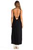 Image 4 of Capulet Plunging Back Maxi Dress in Black