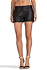Image 1 of Capulet Leather Short in Black