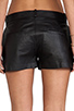 Image 6 of Capulet Leather Short in Black