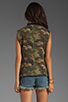 Image 3 of Capulet Quilted Vest in Camouflage