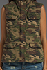 Image 4 of Capulet Quilted Vest in Camouflage